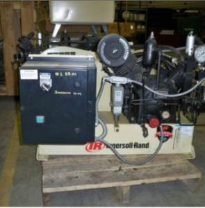 2006 Ingersoll Rand 223X5 T30 Reciprocating Air Compressor