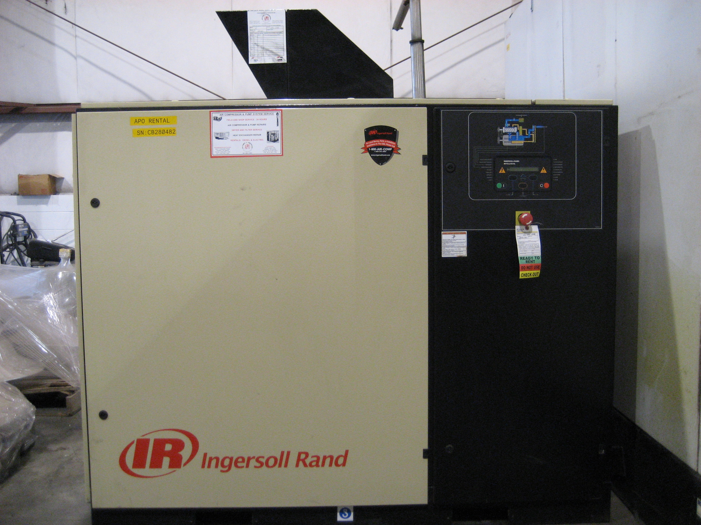 Ingersoll Rand Model: UP6-50-125