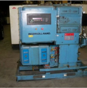 1991 Ingersoll Rand LL2A75 Reciprocating Air Compressor